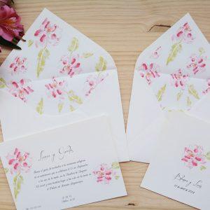 Invitación de boda Chloe