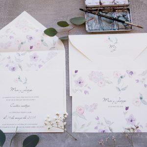 Invitación de boda Julieta
